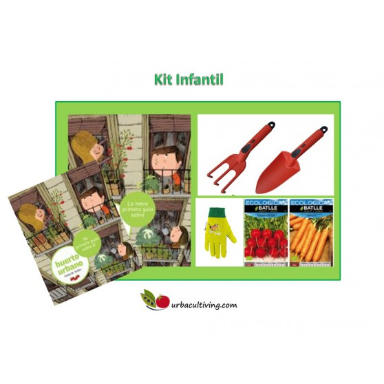 Kit complementos infantil - Huerto Urbano Barcelona